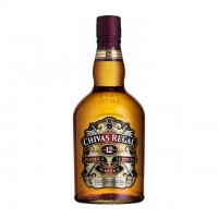 Віскі CHIVAS REGAL 12 years в сув.коробці 0,5л
