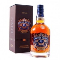 віскі CHIVAS REGAL 18 years в сув.коробці 0,7л